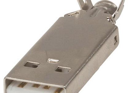 PLG USB A SOLDER
