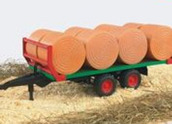 BR1:16 Bale Transport Trailer with 8 Round Bales