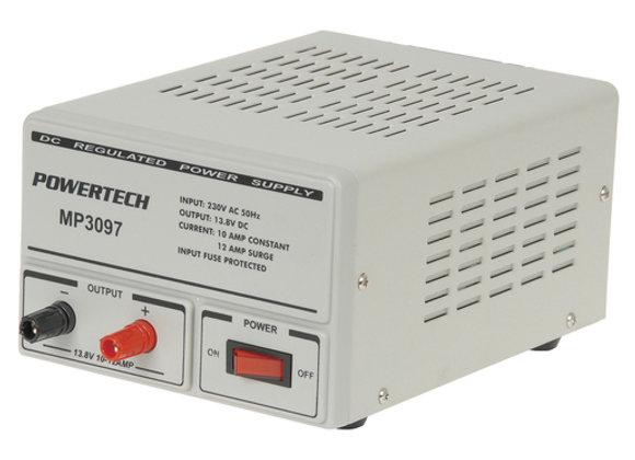PSU LAB 13.8VDC 10A REG POWERTECH