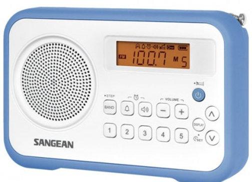 RADIO FM/AM COMPACT 10 PRESET PORTABLE ROYAL BLUE