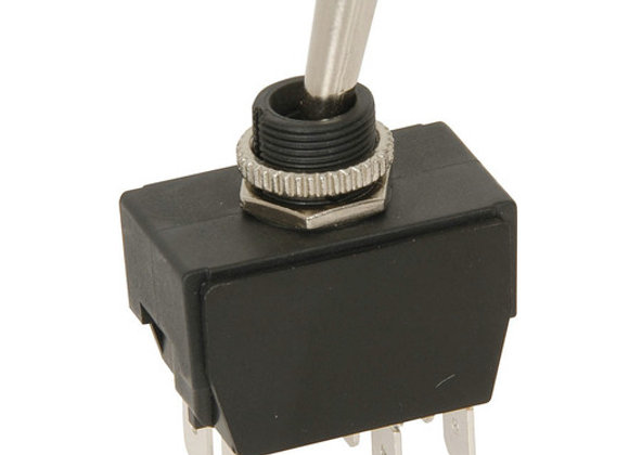 SWITCH TOGGLE DPDT CTR OFF IP56 240V 20A