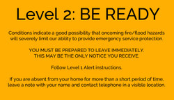 Level 2: BE READY