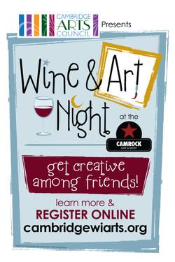 Wine & Art Poster