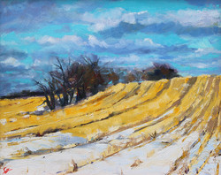 SOLD - Winter Hedgerow