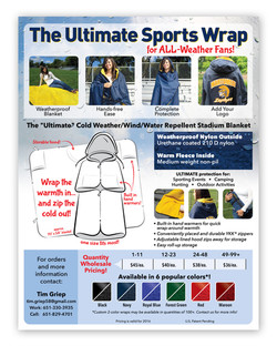 Ultimate Sports Wrap Sell Sheet