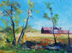 SOLD - Barn View