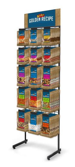 Snack Mix Peg Rack
