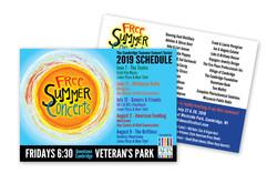 Concert Post Card