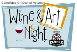 Wine & Art Facebook Ad