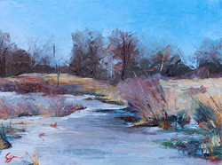 SOLD - Icy Marsh