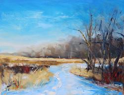 SOLD - Bright Winter Walk