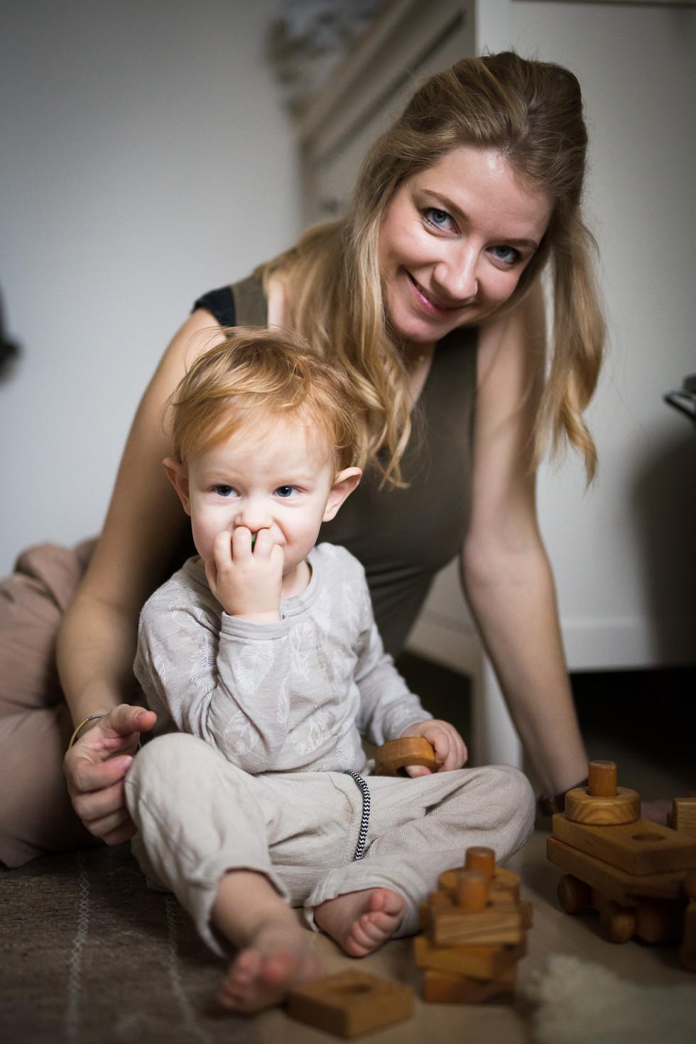 Familienfotograf_Homesstory mit Luise Mi