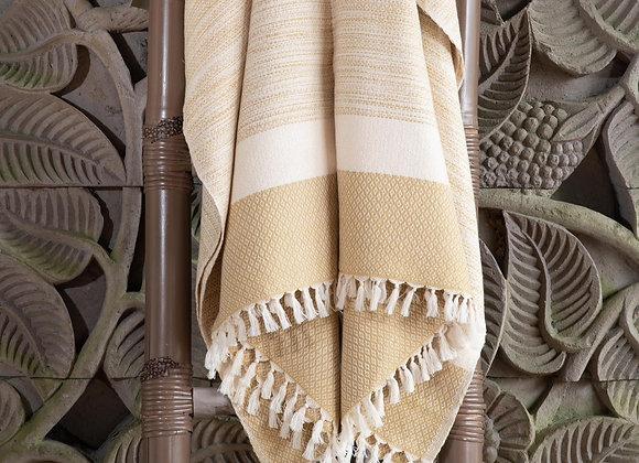 Cotton Blanket | Straw