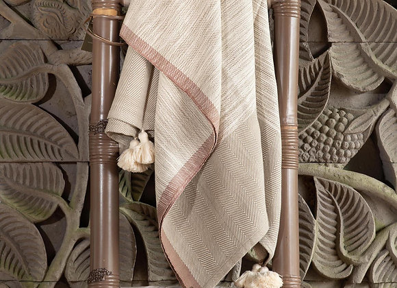 Cotton Blanket | Smoke Grey