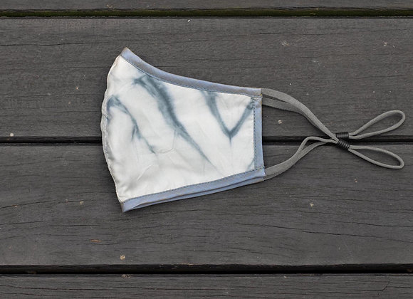 SilkMask 'Leaf'   Blue Pebble