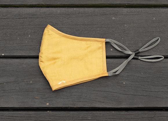 Silk Mask 'Star'   Oil Yellow