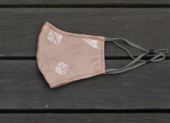 Silk Mask 'Star' | Rose Dust