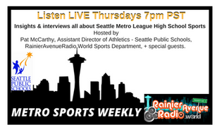 New Weekly Live Show: METRO SPORTS WEEKLY. Thursdays 7pm