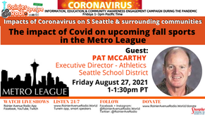 8-27-21 The impact of Covid on upcoming fall sports in the Metro League