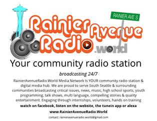 11-9-19 Rainier Avenue Radio broadcasting LIVE from KEXP!