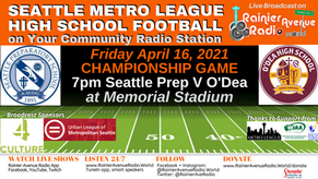 Metro League High School Football Championships 4-16-21 on RAR