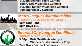 Washington State High School Championship Basketball on Your Community Radio Station