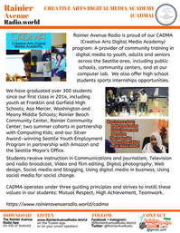 RainierAvenueRadio.world information kit