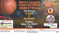 5-14-21 Metro League High School Basketball: Boys O'Dea v Garfield