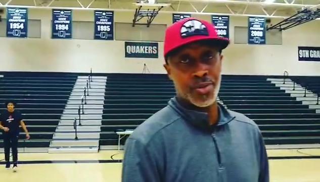 Tony B & Coach Craig Jackson, Franklin High School
