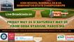 May 24 & 25, 2019: WA State 3A/4A Baseball Championships! Live Broadcasts