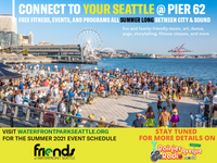 Summer on Seattle's Pier 62 - stay tuned!
