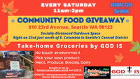 Community Food Giveaway - Saturdays in Seattle's Central District