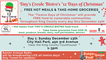 """Tiny's Creole Bistro """"Twelve Days of Christmas"""" - Free Hot Meals & Take-home groceries"""