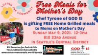 Free Meals for Mothers on Mother's Day!