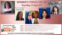 Women's Voices On Air 2-5pm + Sunday Evening Sound Sessions, Graduate Shoutouts, + join the RAR.