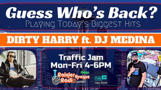 Dirty Harry is back on the air! #TrafficJam Monday-Friday 4 to 6pm PST