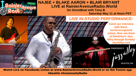 Watch: Najee in-studio, Blake Aaron, Blair Bryant on StreetBeat w Tony B