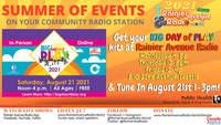 8-21-21 Big Day of Play 2021: Get your play kits from RainierAvenueRadio.world & Tune in LIVE!