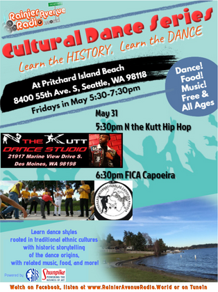 May 31: Final session of RAR.W Cultural Dance Series: Hip Hop & Capoeira