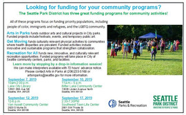 Get $15,000.00 in funding for your community event or activity