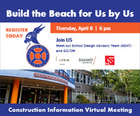 BUILD THE BEACH for US by US - April 8, 2021