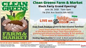 6-26-21 RAR Live Clean Greens Grand Open