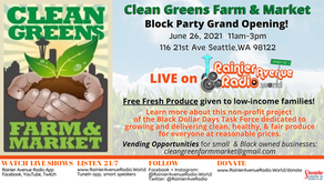 6-26-21 LIVE at Clean Greens Farm & Market Block Party Grand Opening!