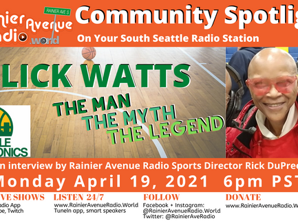 4-19-21 Slick Watts - The Man, the Myth, the Legend