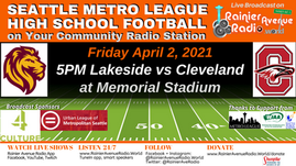 4/2/21 Metro League High School Football LIVE