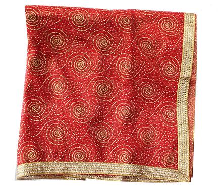Devi Maa ki Chunri Navratri-Curly Design