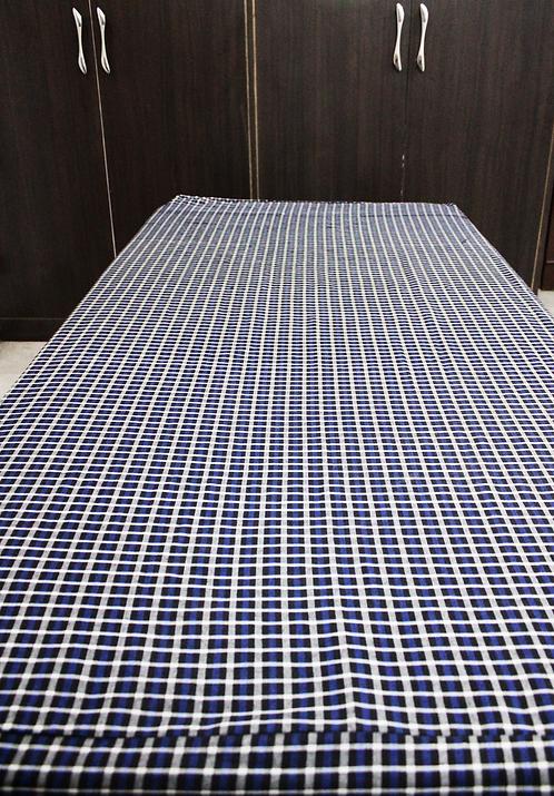 Mattress Protector Cotton Sheet with 2 Zip- 4 X 6 Feet
