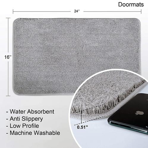 Super Soft Anti Skid Doormat Size: 16 X 24 inch