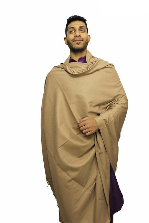 Woollen Warm Pashmina Shawls Premium Quality Lohi 8.5 X 4 Feet