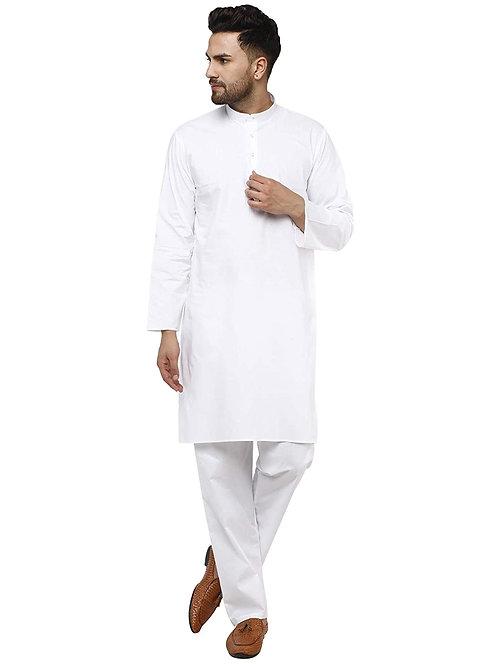 Men's Pure Cotton Regular Fit Kurta Pyjama Set